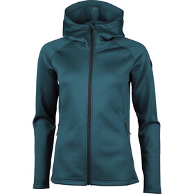 North Bend Vector Chaqueta Polar Capucha Mujer, blue pond